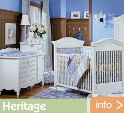 USA Baby Los Angeles Bonavita Heritage Crib